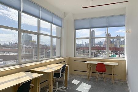 Hunters Point Studios - Private Studio 114 Corner Office w/ View