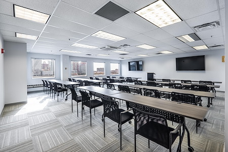 Magnolia Innovation Lab - Training Room that can fit up 52 people