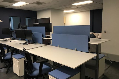 ATS Applied Tech Systems - Open Coworking Desk Spaces
