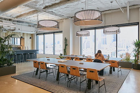 CENTRL Office Downtown Los Angeles - 24/7 Open Membership Desk