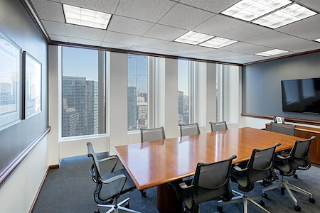 Boston Offices - One Boston Place - Board Room with window