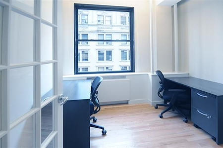 Select Office Suites - 90 Broad St. - Private windowed office for 1-2 desks