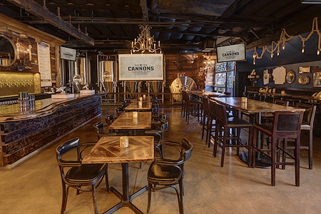 14 Cannons Brewery and Showroom - Tasting Room Meeting Space