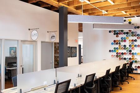 Keller Street CoWork - Dedicated Desks