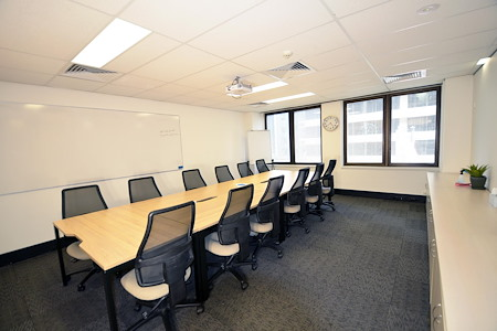 North Sydney Training Centre - 10 Person Boardroom with natural light