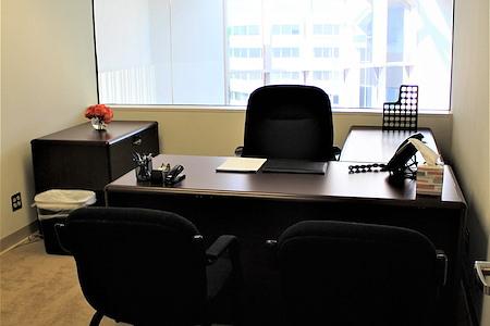 Source Office Suites Tysons Corner - 2-3 Person Office, Atrium View!