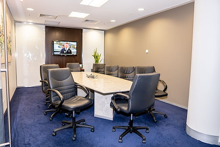 Servcorp Southbank Riverside - Premium Boardroom, seats 10 people