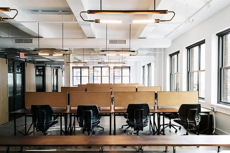 Blender Workspace - Dedicated Desk - Coworking Space