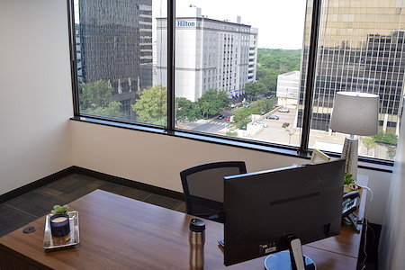 Executive Workspace @ Preston Center - Large Exterior Private Office