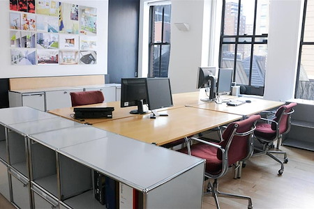 Private Office/Workstations, Chelsea Architect's Studio - Open Office in Chelsea