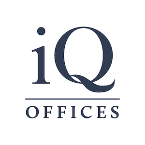 Logo of iQ Offices   1055 West Georgia St.