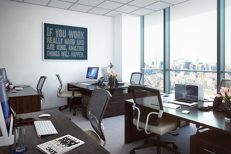 Silver Suites Offices - 7 World Trade Center - 7 WTC 3-Window Office - East Facing