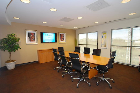 Amanda at YourOffice SouthPark - Exterior Conference Room