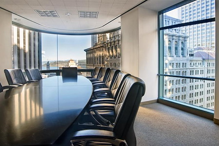 Raven Office Centers - 388 Market - Executive Board Room
