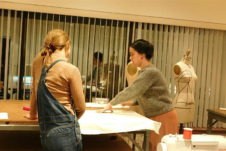 ESAIE COUTURE DESIGN SCHOOL - Hourly Co-Sewing Lounge