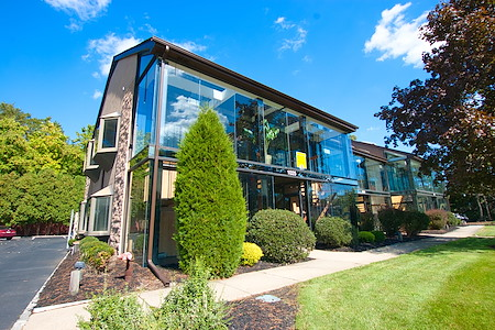 Glass Office Building - Large Office Space