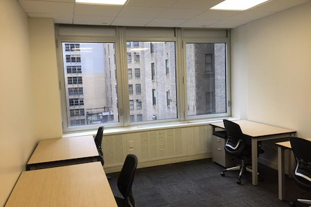Corporate Suites: 1180 6th Ave (46th) - Suite 807 - 6 person window office