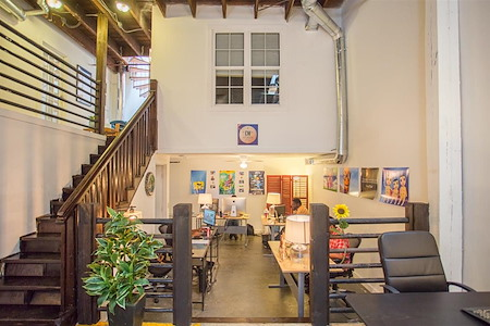 Alkaloid Networks - Team Office #124 w/ original brick walls