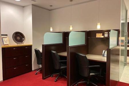 Servcorp - San Francisco 101 California Street - Coworking Lounge Workstation 1