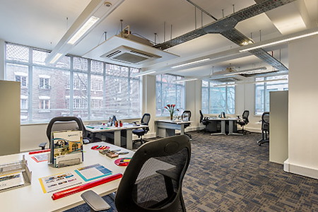 Regus | London, Goodge Street - Dedicated Desk
