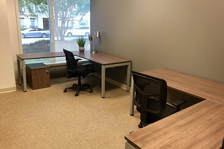 NorthPoint Executive Suites Alpharetta - 160 sq ft Office with Window View