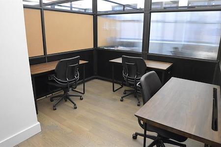 Blender Workspace - 3 Private Desk Office