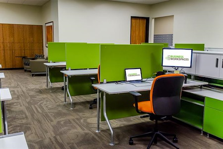 Business Workspaces - Semi-Private Workstation