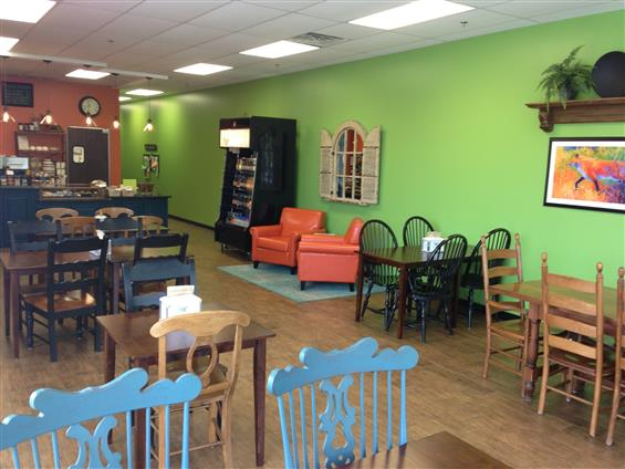 Fox & Fern Cafe - Guest Seating Area