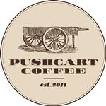 Logo of Pushcart Coffee