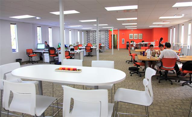 Working at Enerspace Coworking at Palo Alto
