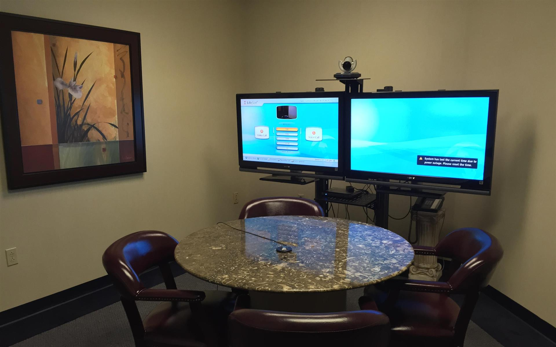 AMG Corporate Offices - Chesterfield - Video Conference Room