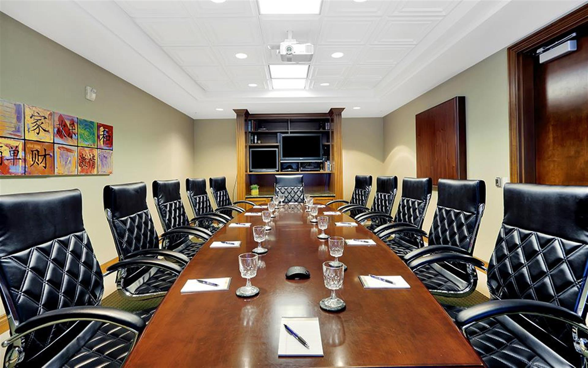 Premier Executive Center- Naples - Large Conference Room w/Video Conf Equip