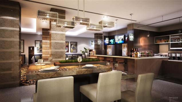 Courtyard by Marriott South Beach - Communal Table