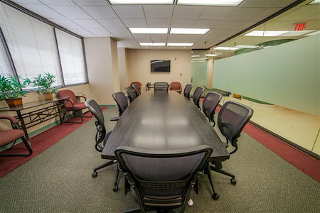 Source Office Suites Rockville - Executive Boardroom