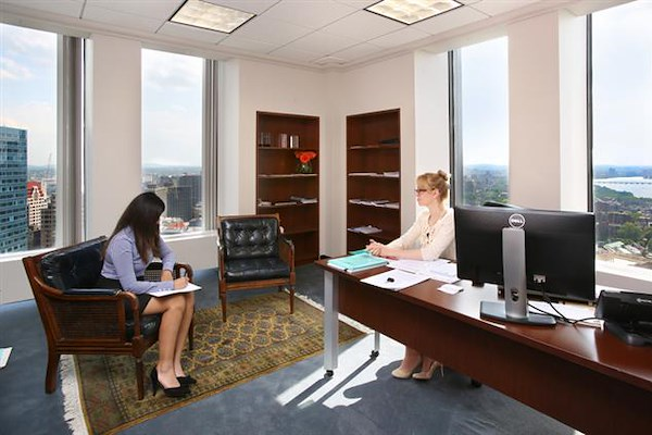 Boston Offices - One Boston Place - Corner Office 26th floor